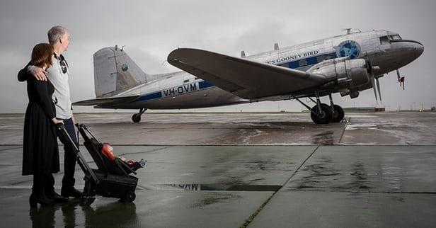 kuffert størrelse fly
