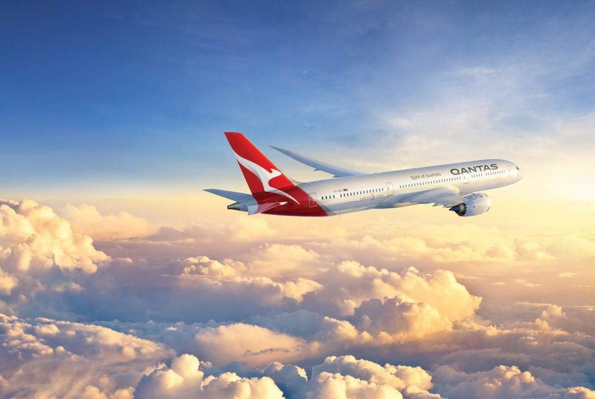 fly til australien