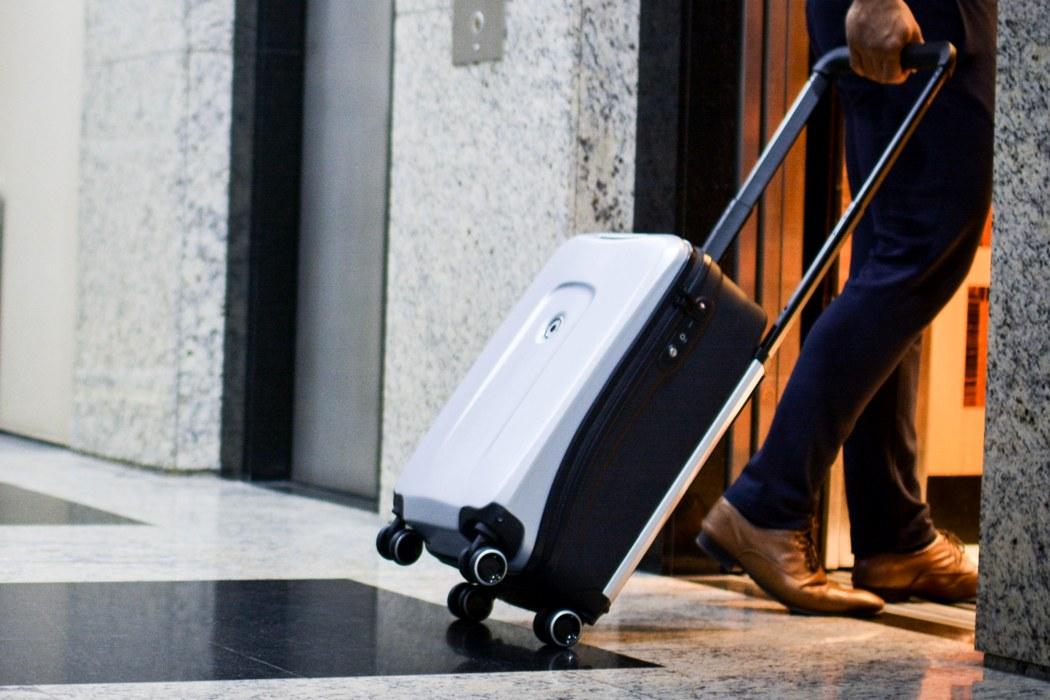 kuffert mål flyvning