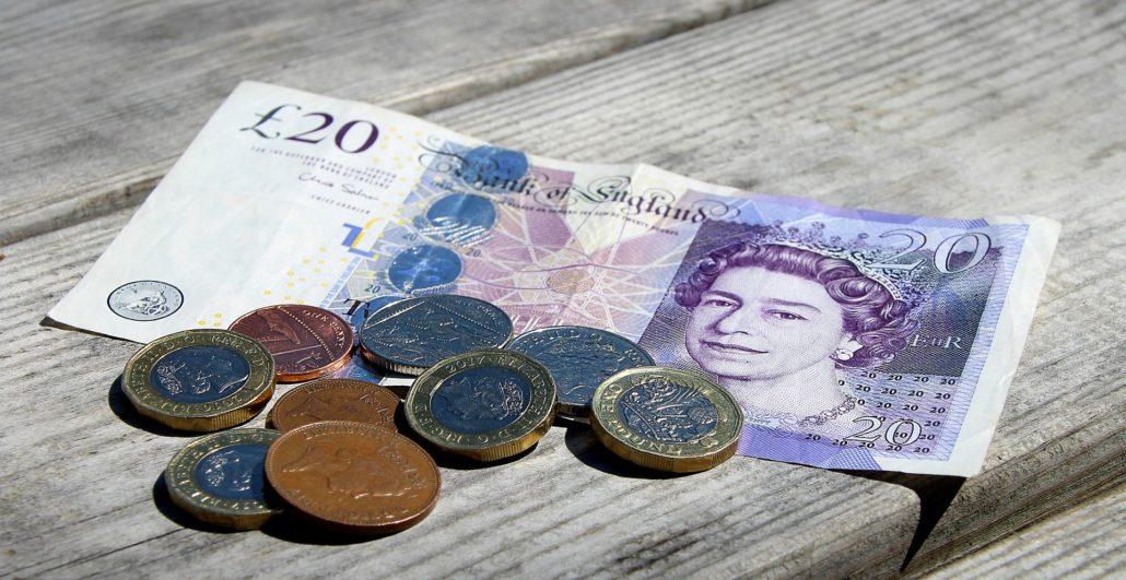 det engelske pund