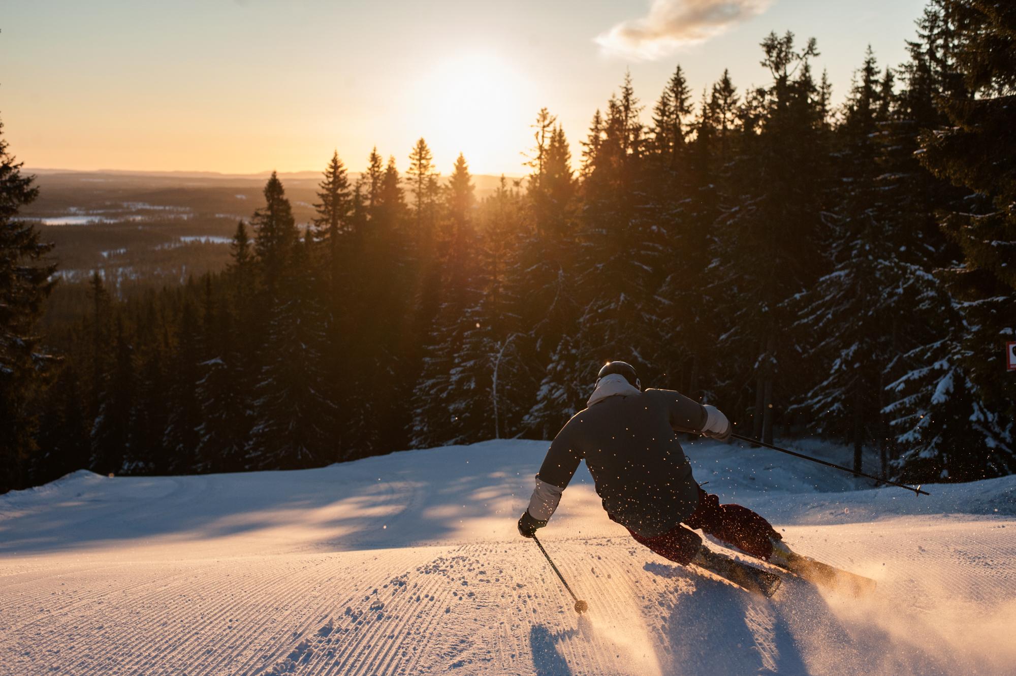 Sverige Abner Lufthavn Midt I Sneen Trendsandtravel Dk